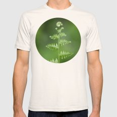 Fern Love Mens Fitted Tee Natural SMALL