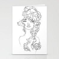 Girl#2 Stationery Cards