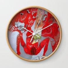 no glove Wall Clock
