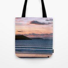 Polzeath Sunset Tote Bag