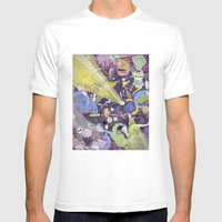 Lisergic Orchestra Mens Fitted Tee White SMALL