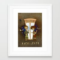 Bill & Ted's Excellent A… Framed Art Print