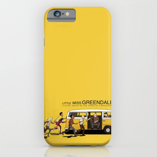 LITTLE MISS GREENDALE iPhone & iPod Case