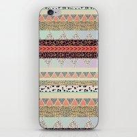 Leopard  print HIAWATHA   iPhone & iPod Skin