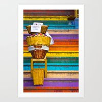 Stair Sales Art Print