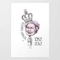 Diamond Jubilee Poster 1… Art Print