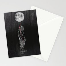 Moon Balloon 02 Stationery Cards