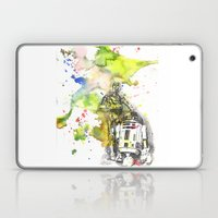 C3PO And R2D2 From Star … Laptop & iPad Skin
