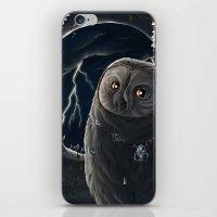 solar owl jupiter  iPhone & iPod Skin