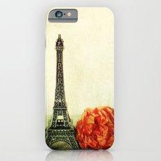 Textured Paris StillLife  iPhone 6 Slim Case