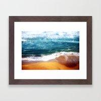 Colourful Seascapes Framed Art Print