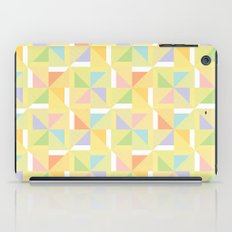 PINWHEELS - YELLOW iPad Case