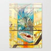 Muncipal HELLO Canvas Print