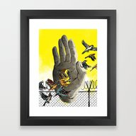 Over And Under And Throu… Framed Art Print
