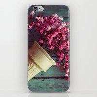 Flower Cone I iPhone & iPod Skin