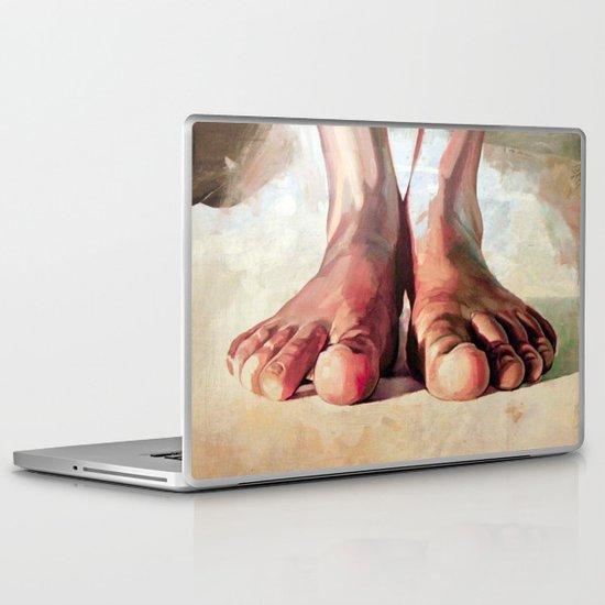 Pensando con los pies Laptop & iPad Skin