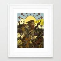Vision Trapper Framed Art Print