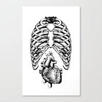 Heart&Chest Canvas Print