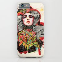 woman iPhone & iPod Cases featuring Woman by Felicia Atanasiu