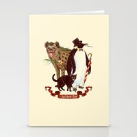 At The Arkham Zoo Stationery Cards