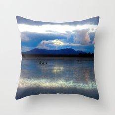 Lakes Lonsdale Throw Pillow