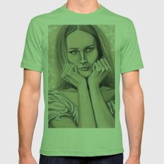 Hey Maddalena Mens Fitted Tee Grass SMALL