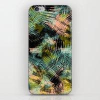PALM COLLAGE iPhone & iPod Skin