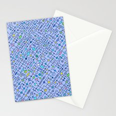 Electronic circuit Stationery Cards