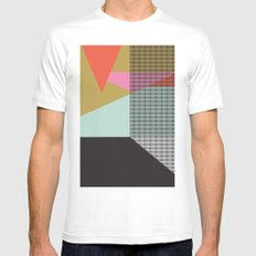 Farbe//One Mens Fitted Tee White SMALL