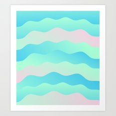 Chill Wave Art Print