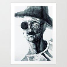handsome sailor Art Print