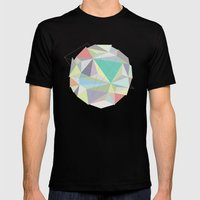 Circle 2 Mens Fitted Tee Black SMALL