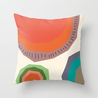 The Edge Of The Sun Throw Pillow