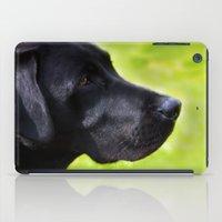 Black  Labrador iPad Case