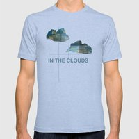 In The Clouds Mens Fitted Tee Athletic Blue SMALL