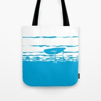 Partly Ducky Tote Bag