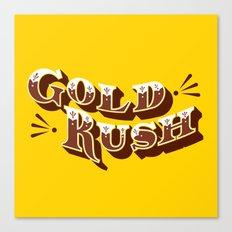 Gold Rush Canvas Print