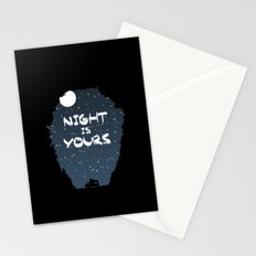 Night Is Yours Stationery Cards