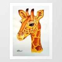 Geraldine Art Print