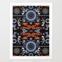Folklore essence Art Print