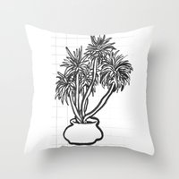 potential tree Throw Pillow
