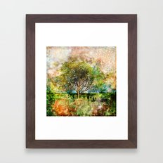 Be Like a Tree Framed Art Print