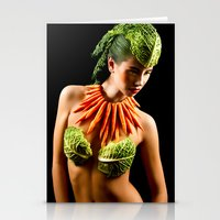 Healthy Eating Stationery Cards