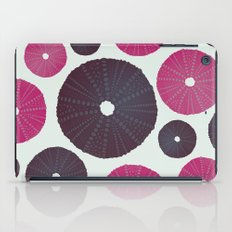 Sea's Design - Urchin Skeleton (Pink & Black) iPad Case