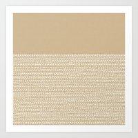 Riverside - Sand Art Print
