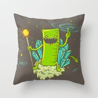 Ruler of the Universe Throw Pillow