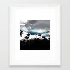 Mountains IV Framed Art Print