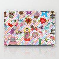 I Love Stickers iPad Case