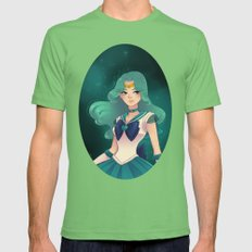 Sailor Neptune Mens Fitted Tee Grass SMALL