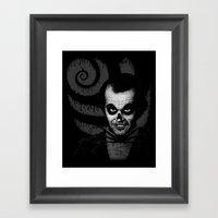 Jack T. Skeleton Framed Art Print